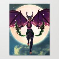 Demon Hunter Canvas Print
