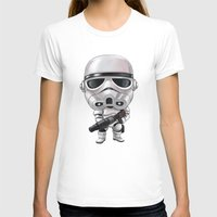 storm trooper T-shirts featuring STORM TROOPER by Leoren