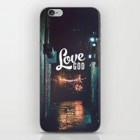 Love God iPhone & iPod Skin