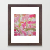 Rouge Framed Art Print