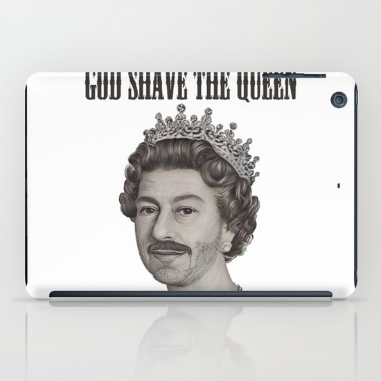 God shave the Queen iPad Case