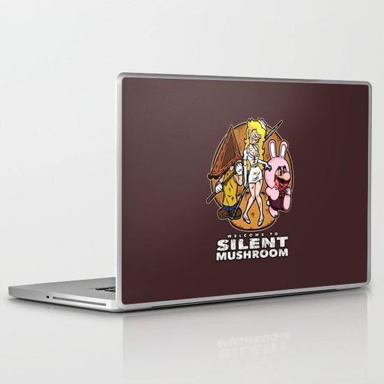 Silent Mushroom Laptop & iPad Skin