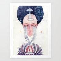 Dissolution Art Print