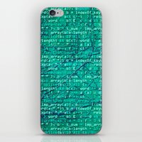 Code_forest iPhone & iPod Skin