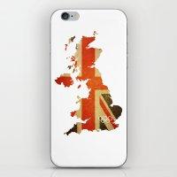 Union Jack Map - Olympic… iPhone & iPod Skin