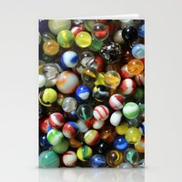 Vintage Marbles Stationery Cards