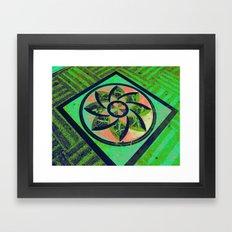 Pago Pago Green DPG160608c Framed Art Print