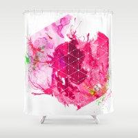 Splash1 Shower Curtain