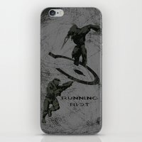 Running Riot - Halo iPhone & iPod Skin