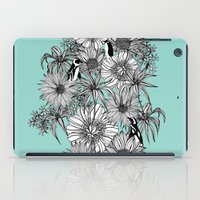 Penguins & Flowers iPad Case