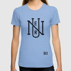 Nuer 2 Womens Fitted Tee Athletic Blue SMALL