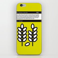 No016 MY The Catcher in the Rye Book Icon poster iPhone & iPod Skin