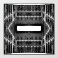 Escher Lives Here Canvas Print