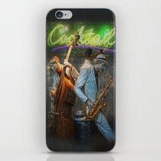 fifties cocktail jazz iPhone & iPod Skin