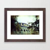Tiger Stadium Framed Art Print
