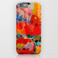 color bubble storm iPhone 6 Slim Case