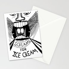 I Scream for Ice Cream Stationery Cards