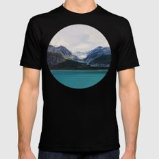 Alaska Wilderness Mens Fitted Tee Black SMALL