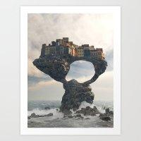 Precarious Art Print