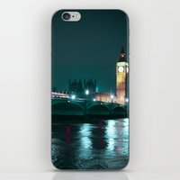 Big Ben And Houses Of Pa… iPhone & iPod Skin