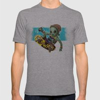 Area 51 Skate Park Mens Fitted Tee Athletic Grey SMALL