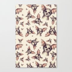 What the Fox - Pattern Canvas Print