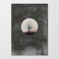 Paradis Noir Canvas Print