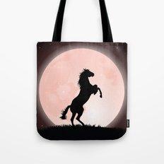 Moon Rider Tote Bag
