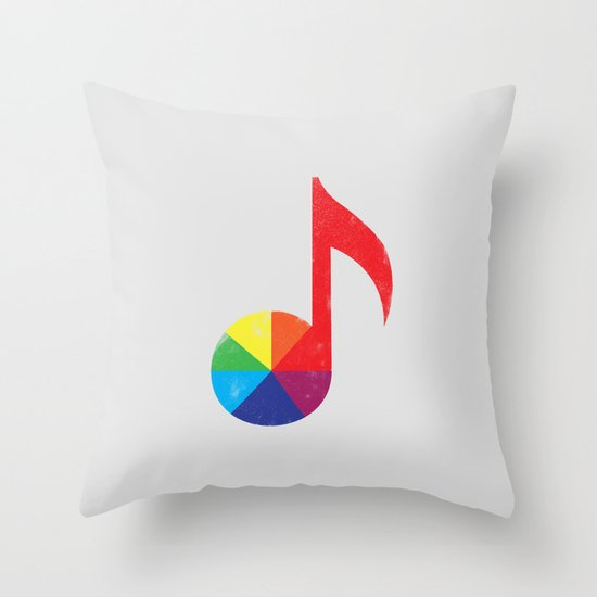 Music Theory Throw Pillow