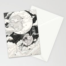 Moon Angel Stationery Cards
