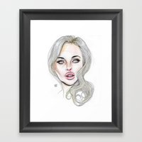 Lindsay By Lucas David 2… Framed Art Print