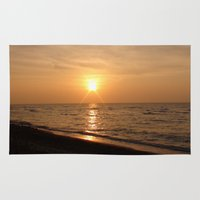 Gulf Of Mexico Sunset Rug