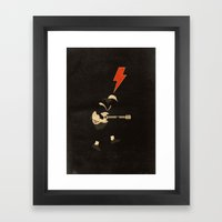 ACDC - For Those About T… Framed Art Print