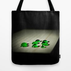 Emerald Rain Tote Bag