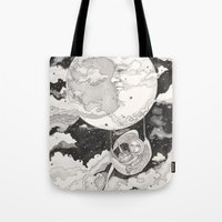 Moon Angel Tote Bag