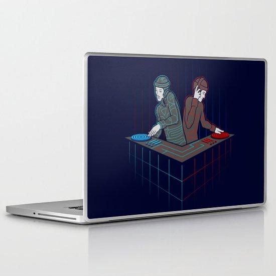 Techno-Tron-ic Laptop & iPad Skin