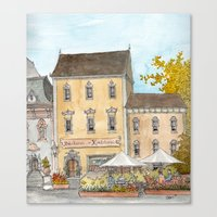 German Bakery Canvas Print