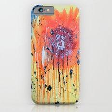 Bleeding poppy iPhone 6 Slim Case