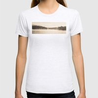A New Day  - Foggy Morning at Laurel  Womens Fitted Tee Ash Grey SMALL