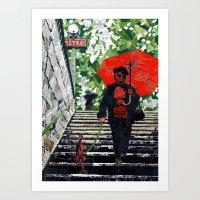 Metro (Métro) Art Print