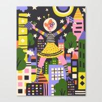 Girl Power Canvas Print