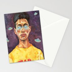 Space Donuts Stationery Cards