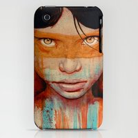 iPhone 3Gs & iPhone 3G Cases featuring Pele by Michael Shapcott