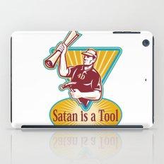 Satan IS a Tool iPad Case