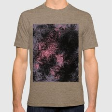 Abstract 34 Mens Fitted Tee Tri-Coffee SMALL