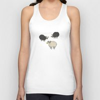 Sheep Unisex Tank Top