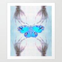 Experiment 1: Metamorphosis Art Print