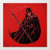 DeathVader Canvas Print