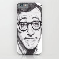 iPhone & iPod Case featuring Woody Allen by Paul Nelson-Esch /Expeditionary Club