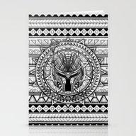 Aztec Boba Helmet Black … Stationery Cards